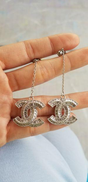 Cz diamond dangle earrings for Sale in Austin, TX