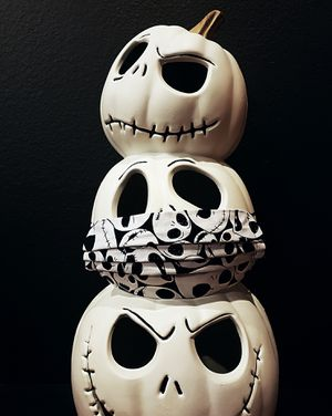 Nightmare Before Christmas Jack Skellington skulls face mask for Sale in Etiwanda, CA