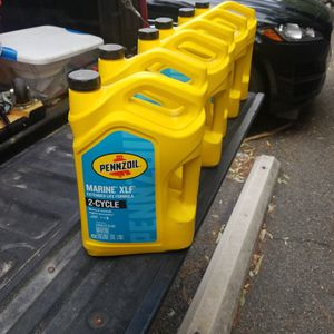 2 Cycle Marine oil for Sale in Mission Viejo, CA