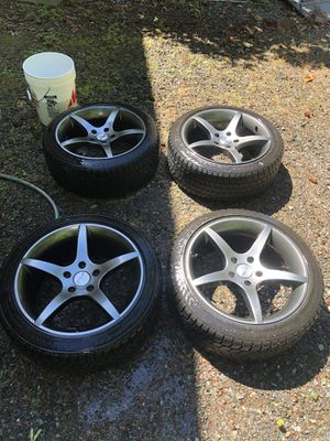 Blizzak snow tires with Sport Edition rims for Sale in Bellevue, WA