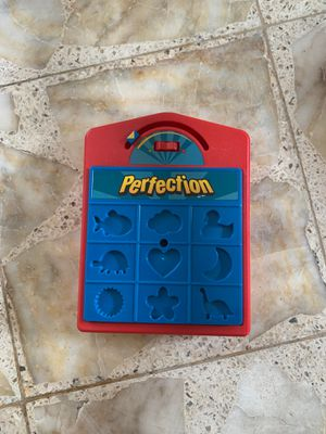 Hasbro perfection game puzzle for Sale in Houston, TX