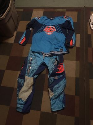 Troy lee design pants and jersey for Sale in Fontana, CA