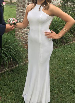 White formal dress for Sale in Oakton, VA