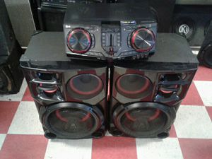 LG extreme power party system. for Sale in San Angelo, TX