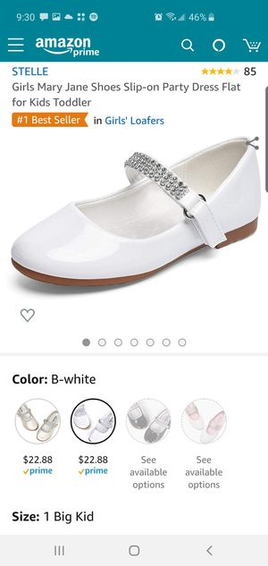 White Girls Dress Shoes for Sale in Tacoma, WA