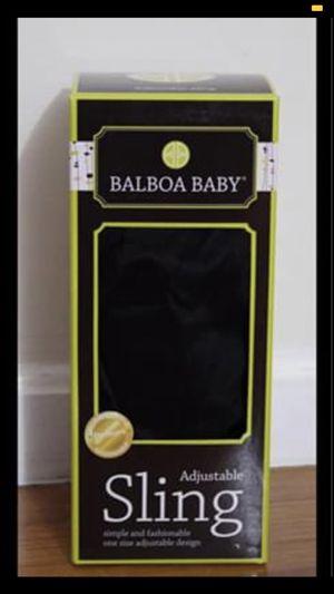 Balboa Baby Dr. Sears Original Adjustable Baby Sling in Signature Black for Sale in Leesburg, VA