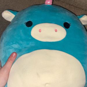 Medium Sized Blue Squishmallow Unicorn for Sale in Albuquerque, NM