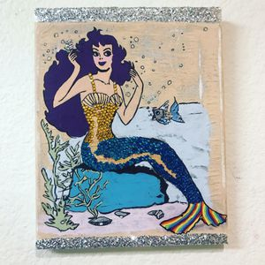 Pop vintage mermaid for Sale in Portland, OR