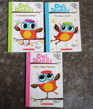 Kids Books- Owl Diaries Graphic Novels #1-3 for Sale in Vancouver, WA