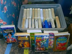 Huge lot of 25 Walt Disney VHS Videos - Pixar, Animated & Live Films - Classics Included $10 for all for Sale in Largo, FL