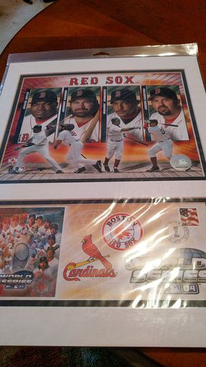 2004 Red Sox hitters matted photo for Sale in Bangor, ME