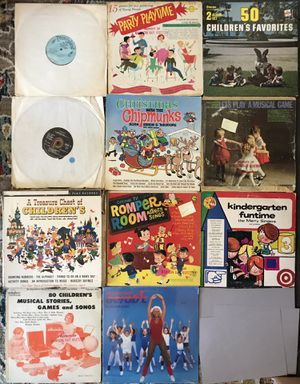 Lot of 11 Children's Music Vinyl Records Albums for Sale in Phillips Ranch, CA