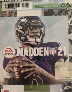 Madden 21 Xbox One for Sale in San Dimas,  CA