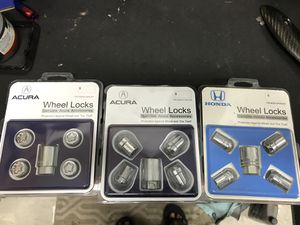 Acura/Honda Genuine Wheel Lock set for Sale in Hamilton Township, NJ