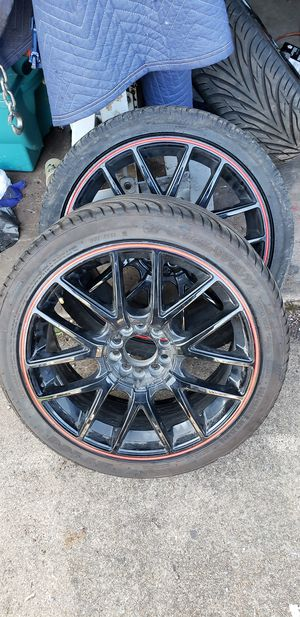 """18"""" wheels. With tires and center caps for Sale in Turtle Creek, PA"""