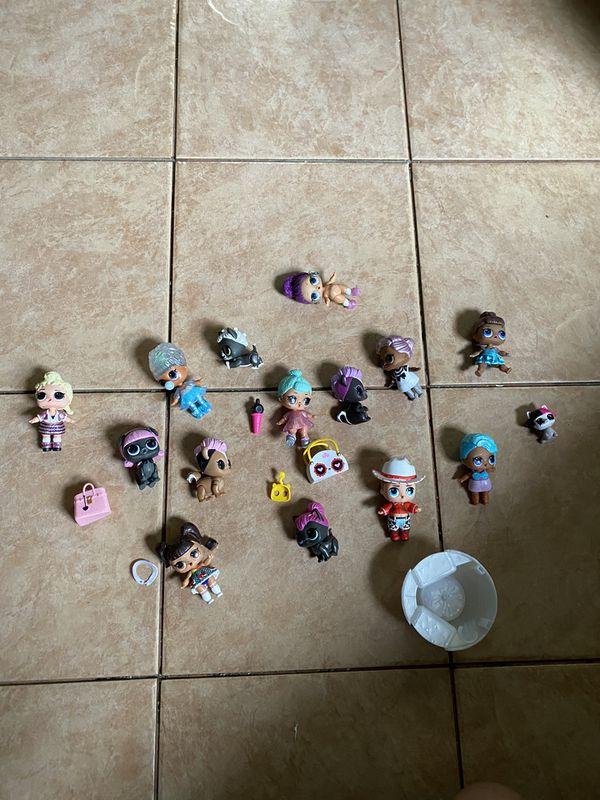 Assorted LOL Dolls