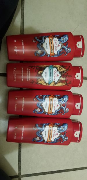 Old spice body wash 16fl oz $3 each ( only 4 available) for Sale in Ontario, CA
