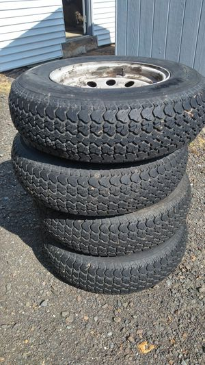 Trailer tires and rims for Sale in Bristol, PA