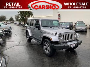 2016 Jeep Wrangler Unlimited for Sale in Corona, CA