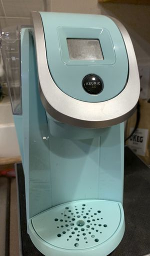 Turquoise Keurig 2.0 for Sale in Tacoma, WA