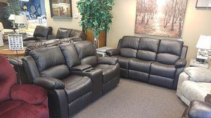 GREAT SOFA AND LOVESEAT SET BRAND NEW RECLINING for Sale in Portland, OR