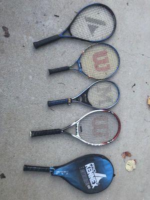 Tennis Racket Lot for Sale in Rocklin, CA
