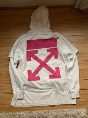 OFF WHITE T SHIRT HOODIE for Sale in Washington, DC