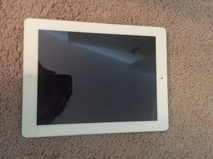 iPad white for Sale in Chicago, IL