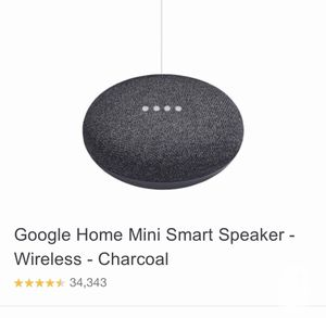 NEW Google Home Mini Charcoal Color 2 available NIB for Sale in Westerville, OH
