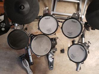 Roland TD-V6 Electric Drum Set for Sale in Clackamas,  OR