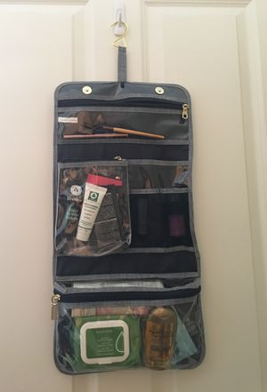 Makeup travel organizer with some essentials for Sale in Renton, WA