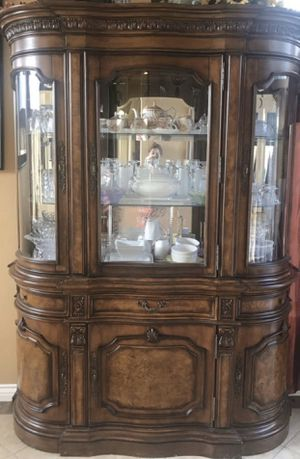 Hutch China Cabinet Buffet for Sale in Ontario, CA