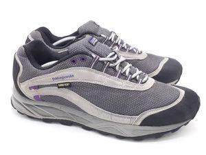 Patagonia Womens 'Arrant' Gore-Tex Blackberry Gray Waterproof Hiking Shoes US 11 for Sale in Hayward, CA