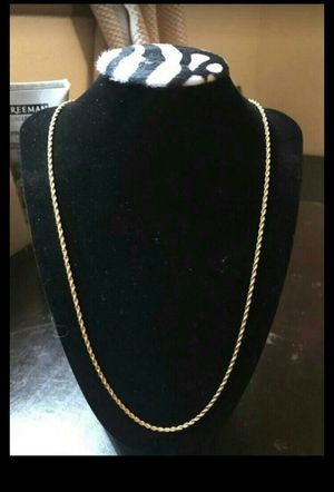 Gold Rope Chain for Sale in Anaheim, CA