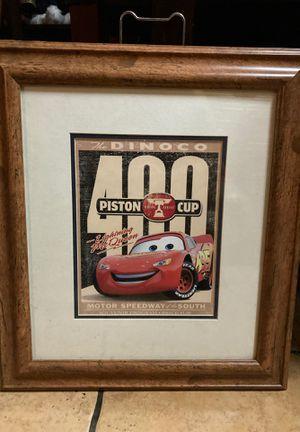 Disney Lightening McQueen picture frame for Sale in Hacienda Heights, CA