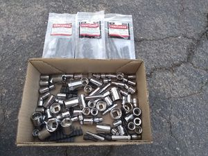 New Craftsman Sockets 92 PC's & 1 Metric &2 Inch Hex Keys ,Black Drill Sockets,& Drill Bits ‼️**$65 Firm For All**‼️ for Sale in Phoenix, AZ