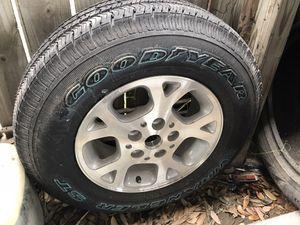 Extra nueva rim nuevo para Jeep 16 for Sale in Brownsville, TX