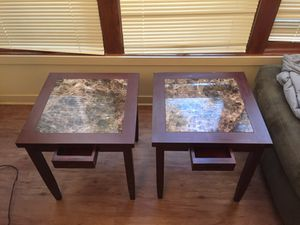 Tv stand and end tables together or separate for Sale in Seattle, WA