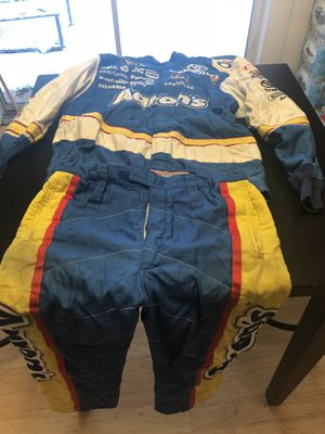 Nascar Race used fire suit for Sale in Cottle, WV