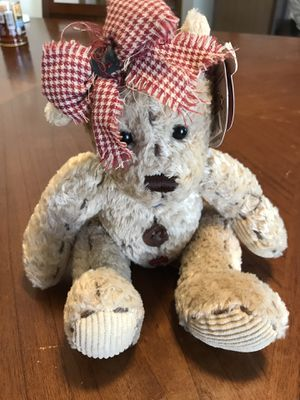 """First and Main Stitches 1136 Teddy Bear Bean Bag Plush 7"""" for Sale in Murray, UT"""