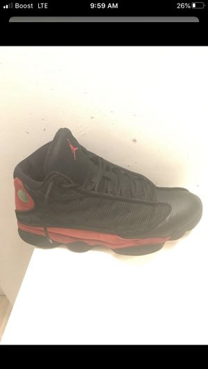 USED Air Jordan 13s Blk/Red RETRO EDITION for Sale in Washington, DC