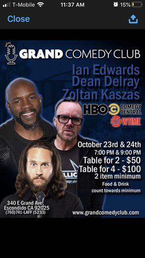 Comedy show fundraiser for Sale in Escondido, CA