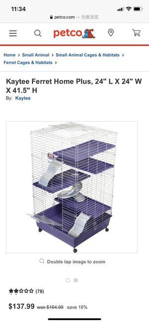 Ferret cage for Sale in Glen Burnie, MD
