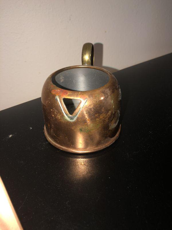 Small copper tea pot