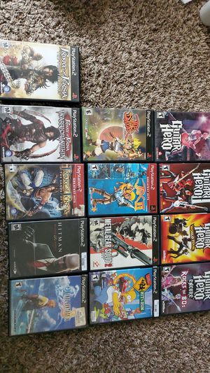 Ps2 game Bundle for Sale in Everett, WA