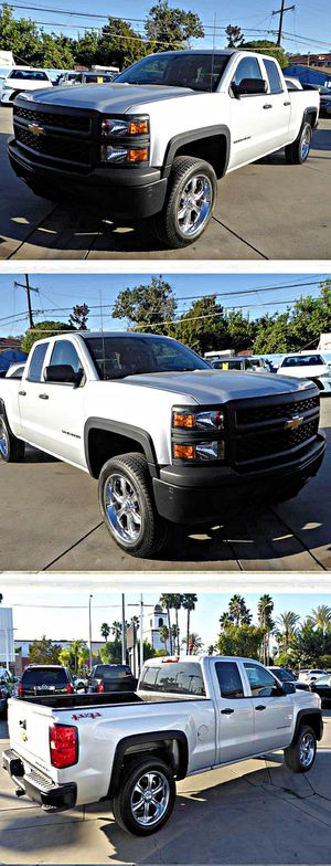 2014 Chevrolet Silverado 1500Work Truck 1WT Double Cab 4WD for Sale in South Gate, CA