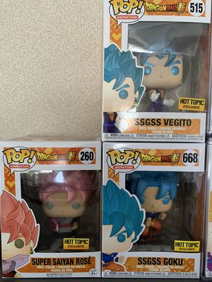 Pops Dragon ball z / Wwe for sale or trade for Sale in Salida, CA