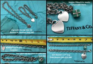 Tiffany & Co. Genuine Silver Jewelry for Sale in Kissimmee, FL