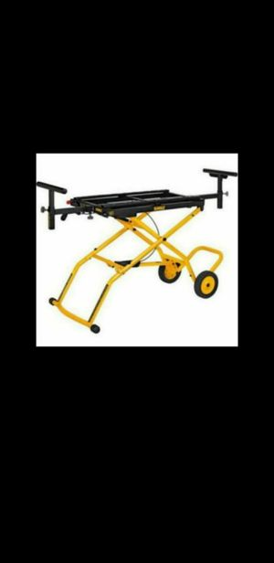 New DeWalt 32-1/2 in. x 60 in. Rolling Miter Saw Stand DWX726-Price is Firm- for Sale in Glendale, AZ