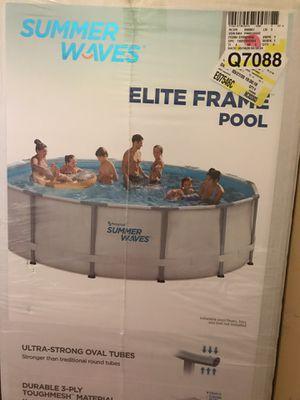 Summer waves 14 ft elite frame pool for Sale in Union City, NJ